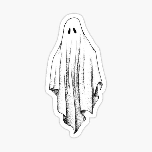 Sheet Ghost Sticker