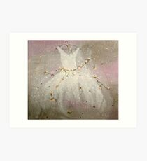 Invitation to dance Art Print