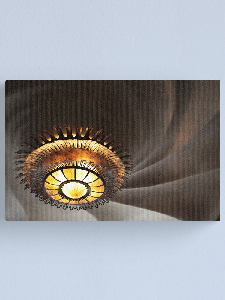 Alternate view of Gaudi's ceiling Canvas Print