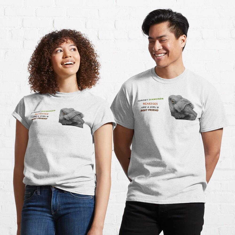 Forget Diamonds - Beardies Are A Girls Best Friend Classic T-Shirt