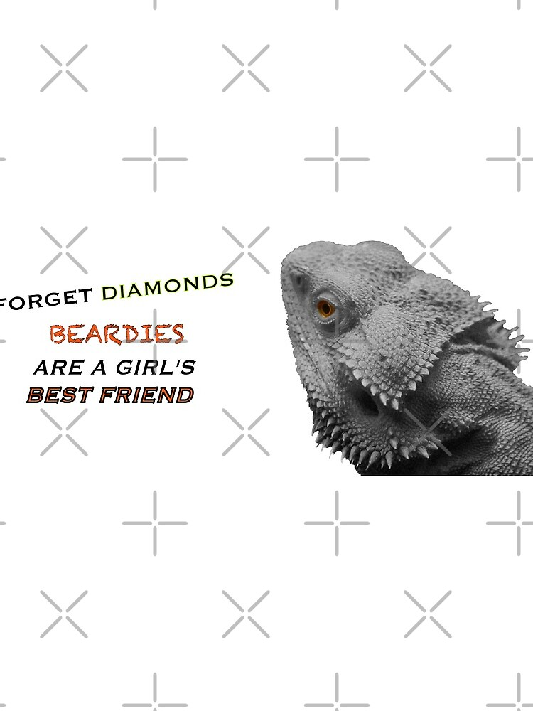 Forget Diamonds - Beardies Are A Girls Best Friend by snibbo71