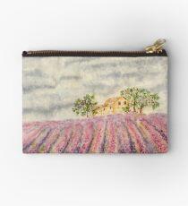 Lavender field Zipper Pouch