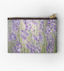 Lavender flowers Zipper Pouch