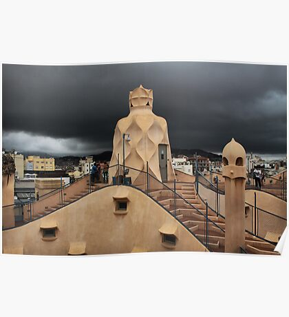The Roof of the Apartments Poster