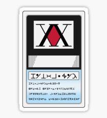 Pro Hunter License Sticker