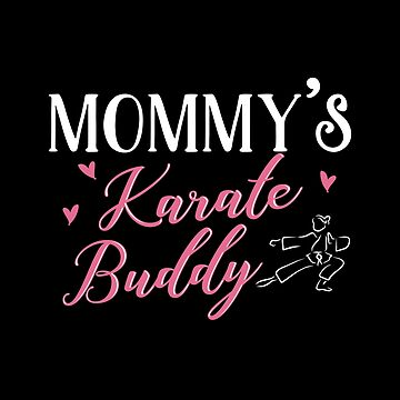 Mom Daughter Matching Karate Shirts by KsuAnn