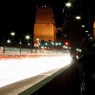 Plasma Fusion - Sydney Harbour Bridge, Australia by BryanFreeman