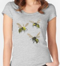 Hornets. Women's Fitted Scoop T-Shirt
