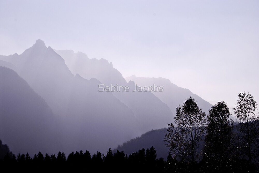 Silhouette, Austria by Sabine Jacobs