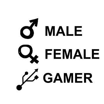 MALE FEMALE GAMER by DigitalStudio