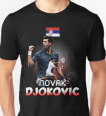 Tennis Novak DjokoVic Us Tshirt Unisex T-Shirt