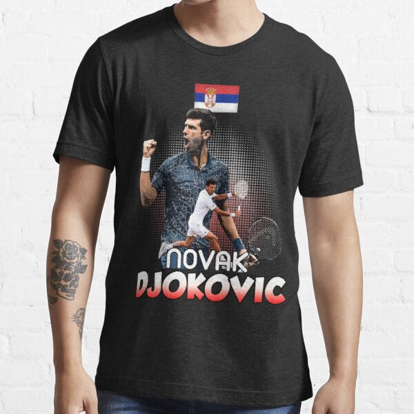 T-shirt Tennis Novak DjokoVic Us T-shirt essentiel