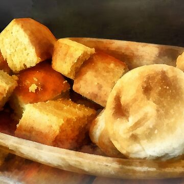 Cornbread and Rolls by SudaP0408
