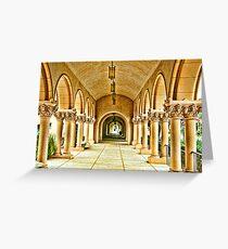 Columns of Casa Del Prado Greeting Card
