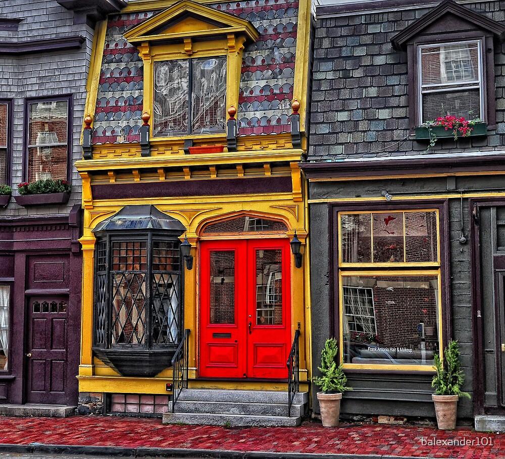 Red Door on Bellevue Avenue by balexander101