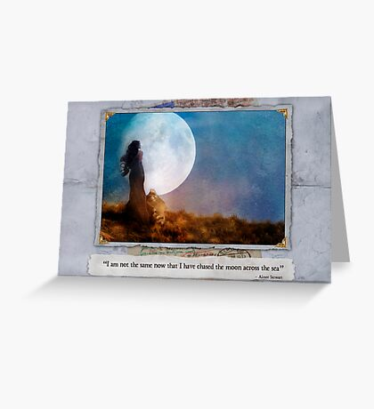 The Dream Traveler - May card Greeting Card