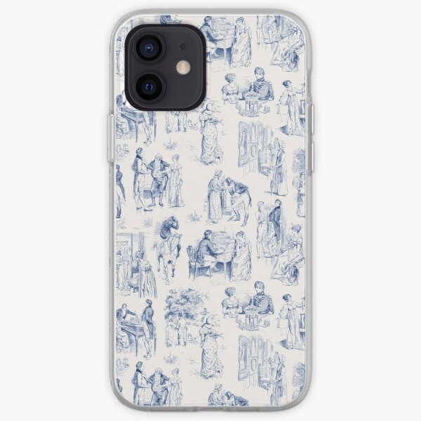 Pride and Prejudice Toile iPhone Soft Case