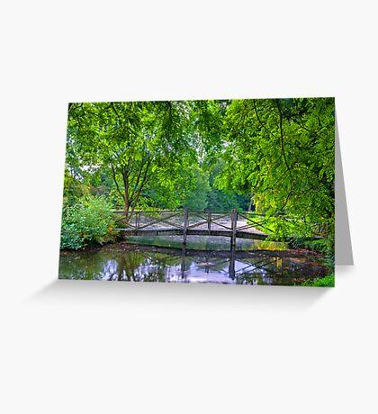 Latice Bridge Greeting Card