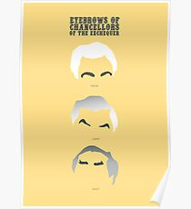 Eyebrows of Chancellors of the Exchequer Poster