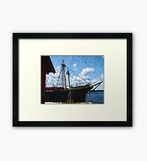 The Square-Rigger 'Joseph Conrad' Framed Print