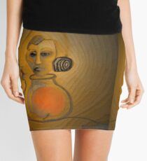 Genie Out Of The Bottle: Eve, Painted Mini Skirt
