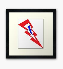 patriot bolts Framed Print