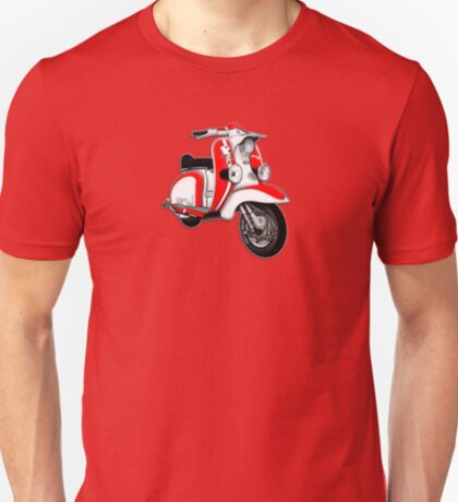 Scooter T-shirts Art: TV 175 Series 1 Mod style racer. T-Shirt