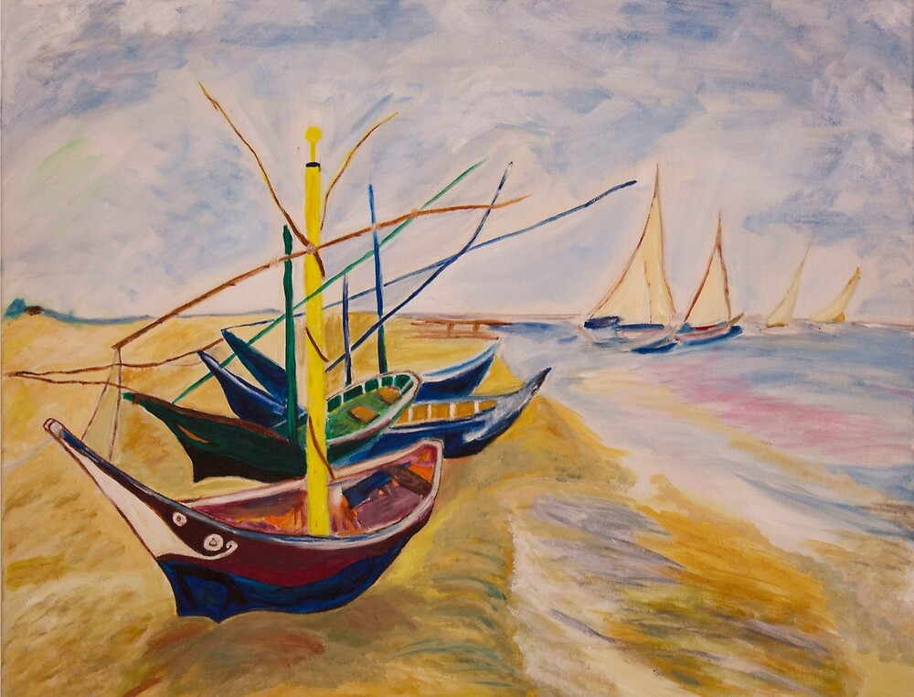 Fishing Boats by casacredsp