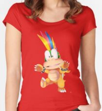 Camiseta entallada de cuello redondo Lemmy Koopa