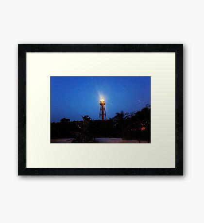 Point Ybel Light Framed Print