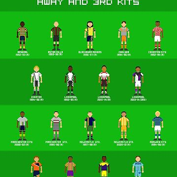 Worst Premier League Away Kits Ever (Pixel) by vgjunk