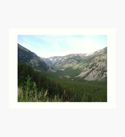 The Hanging Valley Art Print