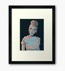 Blue Babe Framed Print