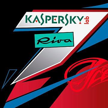2018 Kimi Raikkonen's helmet by ICRDesigns