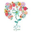 Neuron Bouquet by bleilaniarts