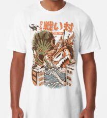 Kaiju Food Fight Longshirt