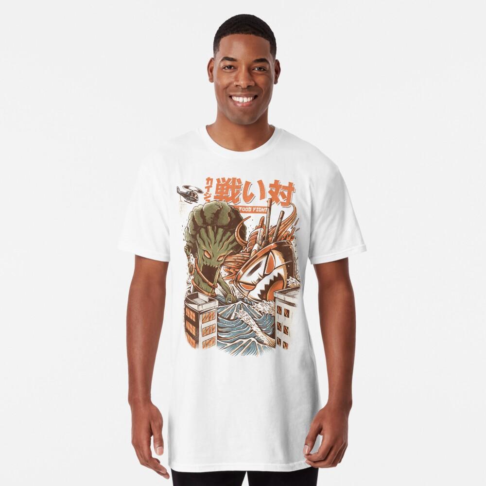 Kaiju Food Fight Long T-Shirt