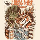 Kaiju Food Fight by Ilustrata Design