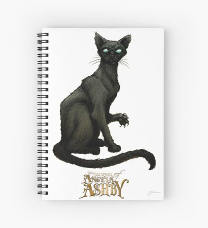The Journal of Angela Ashby - Bombay Cat T-shirt 2 Spiral Notebook