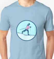 CROSS COUNTRY SKI RUNER Unisex T-Shirt