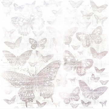 shabby silver butter flies pattern,shabby chic, silver ,butterflies, pattern, victorian,belle epoque,vintage,rustic,french chic, wedding by love999