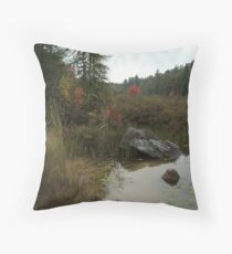 Muddy Waters and Ruby Maples Throw Pillow