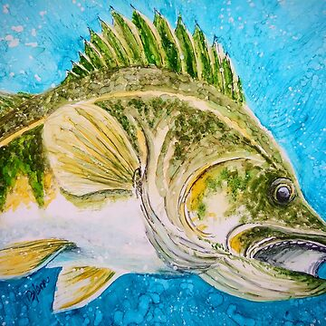 Walleye Fishin by GlennArt