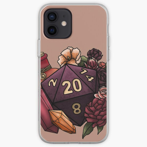 Sorcerer Class D20 - Tabletop Gaming Dice iPhone Soft Case