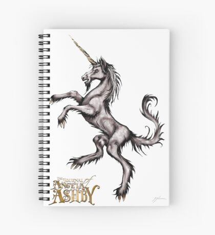 The Journal of Angela Ashby - Unicorn T-shirt 2 Spiral Notebook