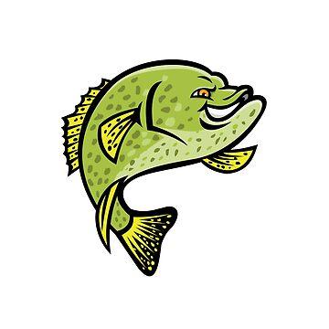 Crappie Fish Mascot by patrimonio