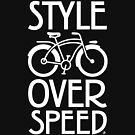 Antique Bike - Style Over Speed by branchdesign