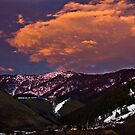 Twin Peaks Sunset by Roy Nelson