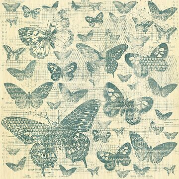 shabby grey teal butter flies pattern,shabby chic, grey teal ,butterflies, pattern, victorian,belle epoque,vintage,rustic,french chic, wedding by love999