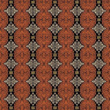 Brahma Play - (Rust - Ceylon Yellow - Almond Buff) by Colette-vd-Wal